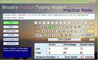 Bruce Unusual Typing Wizard